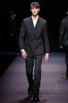 Ermenegildo Zegna Fall Winter 2014 – Milan Men s Fashion Week Otoño  Invierno 2014 ddda21d58589