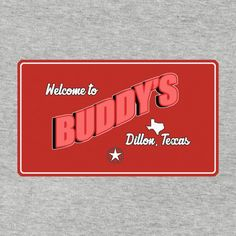 Buddy's Bar - Dillon, Texas  Friday Night Lights inspired t-shirts are now available in store!  #FNL, #FridayNightLights, #tshirts, #shirts, #football, #sport,