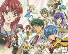 Day 14: Anime that never gets old no matter how many times you rewatch it... La Corda d'oro because I love music and this anime was amazingly well done.