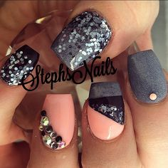 Stephanie Rochester @_stephsnails_ #coffinshape#nail...Instagram photo | Websta (Webstagram)