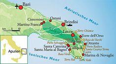 Apulien: Zwischen den Meeren