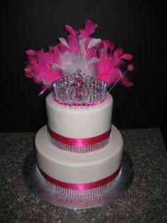Pink Princess Small cake for a sweet 15 Cupcake Birthday Cake, Birthday Cake Girls, Princess Birthday, Cupcake Cakes, Pink Princess, Birthday Parties, Princess Cakes, Princess Theme, Cupcakes