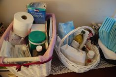 The Exhaustive List of Homebirth Supplies [Ok, you totally do not need all this stuff for your homebirth, but this is a good list of options]