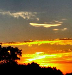 Modern Art Photography Gift/Sunset Wall Art by TenaciousImages