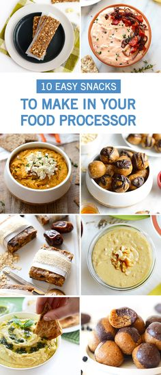 Looking for a new blender food processor or both you need a ninja this collection of 10 easy snacks to make in your food processor is all about simplicity forumfinder Images