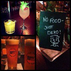 Monkey Bar drinks. Berlin