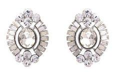 Amazon.com: Dazzling DECO Crystal Earrings - Art Deco Jewelry: Jewelry