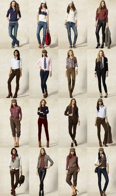 tomboy femme style. I LOVE all of these. Seriously.