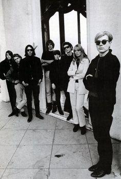 The Velvet Underground with Nico and Andy Warhol
