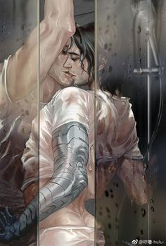 Stucky, Steve &Bucky >>> Just. Fucking. Perfect!! They are sooo handsome, hat down to the artist!!