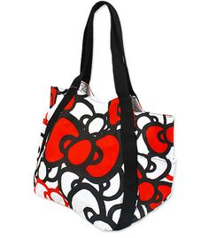 Hello Kitty bag...perfect for my school stuff!