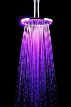 add violet flame to your daily shower