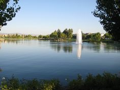 Harveston Lake, Temecula, CA - one of our favorite spots for walking