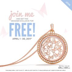 Origami Owl Opportunity | Origami Owl Consultant | Origami Owl Discount | Origami Owl Collection | Origami Owl Ideas | Designer Exclusive April 2017 | Origami Owl Locket | Origami Owl Free | Email Kristy@foreversparkly.com for a free gift