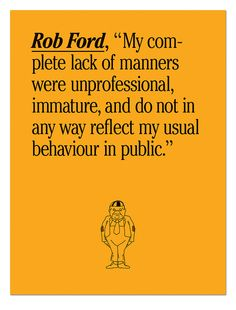 Oh, Rob Ford.
