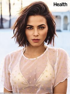 CelebrityNews These Are the 10 Beauty Products Jenna Dewan Tatum Uses Every Single Day Popular Short Hairstyles, Easy Hairstyles, Wedding Hairstyles, Messy Short Hairstyles, Cute Short Haircuts, Hairstyles 2018, Pixie Haircuts, Celebrity Hairstyles, Short Brunette Hairstyles