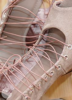lace up boots diy