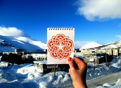 #notebook #mandala #drawing #creative #photo