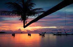 Sunset, Thailand.