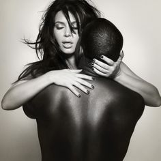 Obsessed with this pic♥♥♥ kim k & kanye
