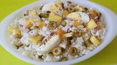 Insalata di riso e ananas-ricetta estiva