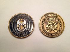 USS PHILIPPINE SEA CG 58 CHIEF PETTY OFFICER CPO CHALLENGE COIN