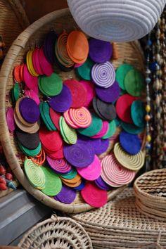 Earrings from Rwanda