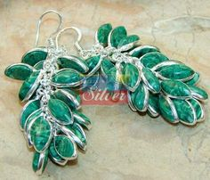 Beautiful item with Melakite Gemstone(s) set in pure 925 sterling silver.