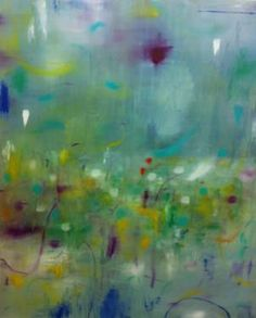 """""""Paint,"""" original abstract painting by artist Se Rin Park (United Kingdom) available at Saatchi Art #SaatchiArt"""
