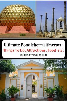 If you are thinking of a trip to Pondicherry, India then read on for a perfect Pondicherry itinerary.  Pondicherry itinerary | Puducherry itinerary | Pondicherry itinerary for 3 days | Pondicherry itinerary for 2 days | one day trip to Pondicherry | Pondicherry beaches | places to visit in Pondicherry in one day | places to visit in Pondicherry in 3 days | things to do in Pondicherry | Pondy attractions | Pondicherry Hotels | Pondicherry food Best Travel Guides, Travel Tips, Travel Abroad, Travel Ideas, China Travel, India Travel, Amazing Destinations, Travel Destinations, Backpacking Asia