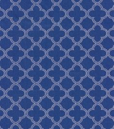 Upholstery Fabric-Waverly Framework Navy