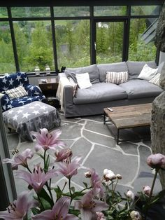 Wintergarden, living room Hemsedal