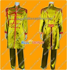 The Beatles Costume Sgt. Pepper's Lonely Hearts Club Band John Winston Lennon Costume