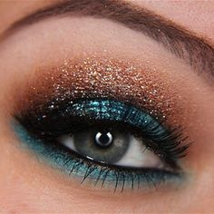 I absolutely love this!!!! I will find a reason to wear my makeup like this somehow someday!!!!
