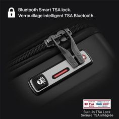 Smart Luggage® Carry-on Electronic Parts, Carry On, 21st, Personalized Items, Hand Luggage