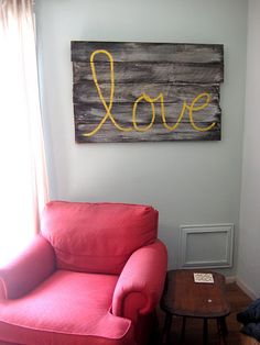 I love things that are simple, rustic, and free (or cheap)! Fun idea.