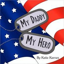 MY DADDY MY HERO - The Daddy is out helping the good guys. And although we miss them while they are away, we are very proud of them. Always have hope and faith and once your Daddy is done helping the good guys, he´ll be back in your arms before you know it! www.operationwearehere.com/booklists.html