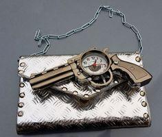 Catawiki, pagina di aste on line  steampunk bag, unique piece , handmade