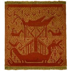 Tampan, Sumatra, supplementary weft, cotton, 19th century