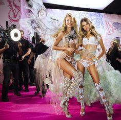 Victoria's Secret Fashion Show 2014. Candice and Behati