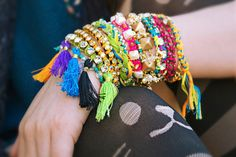 Fiesta Frenzy DIY Bracelets | Make yourself an arm full of color!