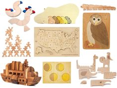 A Lovely Lark: Pretty Wooden Puzzles