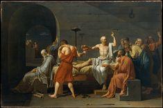 The Death of Socrates - Jacques Louis David, 1787