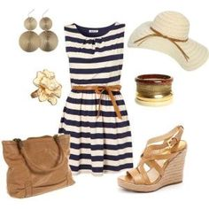 Summer fun, created by kahaas10 on Polyvore by dresdenfan