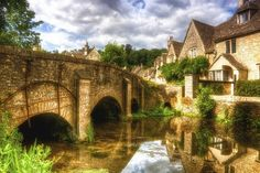 Castle Combe HDR