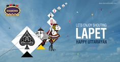 #DiamondRummy Begin The New Year With #Uttarayan 2016 And Festivities May The Sun Light Up Your Life With Warmth,Joy And Happiness Wish You Happy Uttarayan . #Makarsankranti  bit.ly/diamondrummy