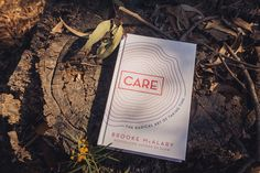 Book Therapy – Care: The Radical Art Of Taking Time – Lady In The Lighthouse Charlie Mackesy, Something Awful, Keep The Lights On, Red Tree, Person Sitting, Finding Joy, Big Picture, Nonfiction Books, Bestselling Author