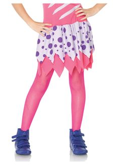Child Neon Pink Fishnet Tights / Stockings By Leg Avenue Enchanted Costumes Childrens Fancy Dress, Fancy Dress For Kids, Halloween Leggings, Halloween Costumes For Girls, Halloween Ideas, Ballet Tights, Colored Tights, Stockings Legs, Fishnet Tights