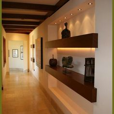 spanish colonial hallway alcove - Google Search