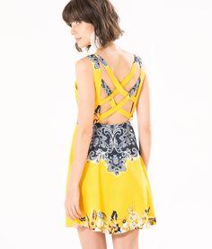 vestido costas brasilete